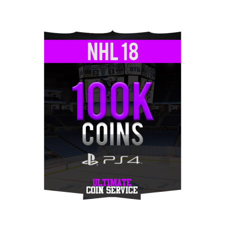 NHL 18 Playstation 4 100K