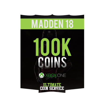 Madden 18 Xbox One 100K