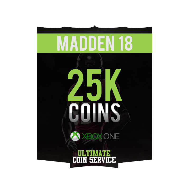 madden 18 xbox one 25k ultimate coin service