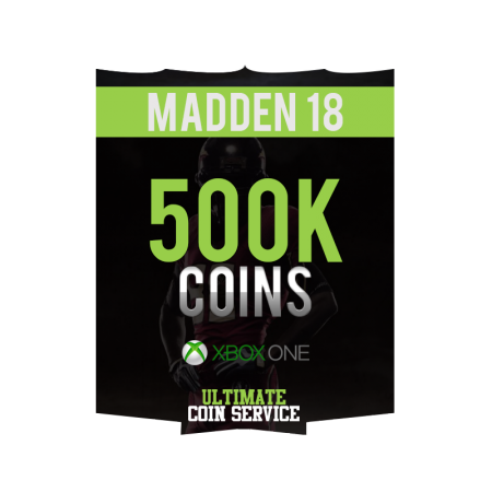 Madden 18 Xbox One 500K