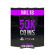 NHL 18 Playstation 4 50K